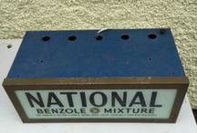 NATIONAL BENZOLE GARAGE ADVERTISING / Visit our website to see our full range of automobilia. Stock changes regularly, so check back for new products: http://mattsautomobilia.co.uk/new