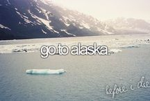 BUCKET LIST: ONE DAY / Places or things that would be cool to do one day.