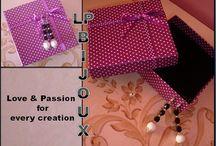 Bijoux / My creation: jewerly