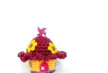 mini house amigurumi