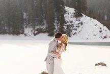 Zimowy ślub i wesele
