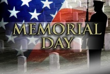 Memorial Day, May 31 / The official day for remembering the men and women who died while serving in the United States armed services was formerly known as Decoration Day which originated after the Civil War to commemorate fallen soldiers.  It is currently held on the last Monday in May.