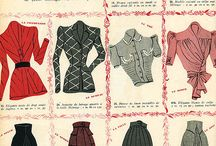 1940-s years fashion history