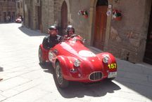 Mille Miglia 2014 - Radicofani / Auf unserer GenussTour Umbrien-Latio-Südtoscana waren wir am 17. Mai dann in Radicofani bei der Durchfahrt der Mille Miglia