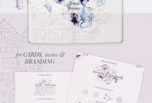 """Oh so feminine! / Feminine Graphic Design, Website Templates, Premade/Custom Branding, Wedding and Event Invites and Everything you find """"Oh so feminine""""! No spamming. Let's keep the board attractive in order to get more followers. To contribute: 1.) Follow https://www.pinterest.com/peachcremepinme/pins/  2.) Email me at hello@peachcreme.com with your Pinterest URL . Happy pinning!"""