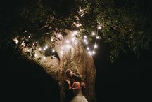 wedding lights / Ideas for lighting up