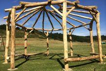 Bodging, coppicing, woodland management & greenwood crafts