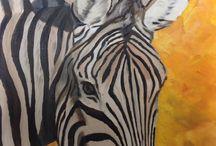 Schilderijen van Karin Ballizany / Olie en acryl