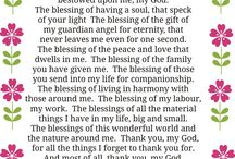 being thankful to God