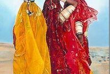 Roupas Indianas Do Rajasthan