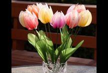 Kwiaty nylon