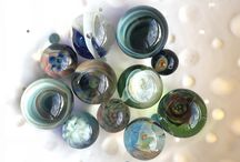 glass marbles