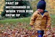 Kids growing up