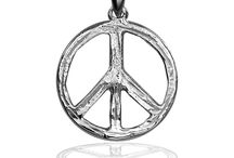 Peace Jewelry / Tranquility, calm, restfulness, serenity, and quietness...otherwise known as PEACE. The Peace Sign below is a symbol used to represent peace for decades. When you are buying someone a present, think of gifting them a beautiful icon of peace.