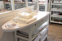 Sewing Rooms / Ideas for home sewers!