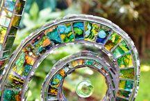 Мозаичная скульптура