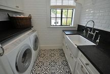 HOME:  Laundry Room / Laundry room organization and styling / by Jenny @ jennycollier.com