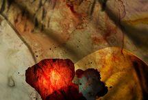 Digital art landscape - digital art print