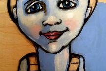 SUZAN BUCKNER ART -PEOPLE