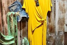 Bohemian Inspired Fashion Mustard and turquoise is one of our absolute favorite combinations!  Especially for some happy spring/summer vibes