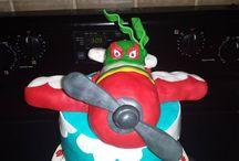cakes / Disney's Planes el chupacabra cake / by Tara Jackson