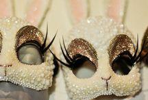 Halloween White rabbit