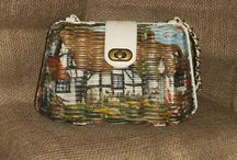 Lovely Bags / I am addicted to napkin decoupage - bags had no escape!
