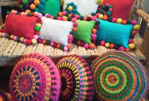 Bohemian Pillows / Ethnic Gifts, Bohemian, Home Decoration, Interior Design, Jewelry