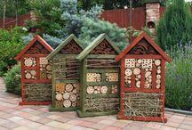 Домики для птиц и насекомых