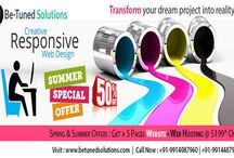 Web Development Solutions / We provide excellent web development services like wordpress development, joomla development, magento development etc.