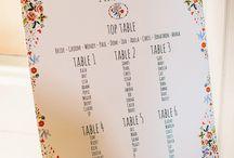 Wedding tables etc