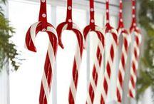 Röd och vit jul