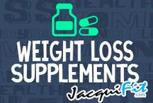 Weight Loss Supplements / Supplements for weight loss  / by Jacqui Blazier, www.jacquifit.com