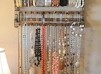 jóias e porta jóias