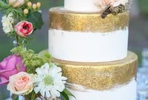 Gold Weddings / Follow the trend with everything gold!