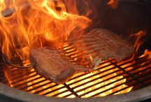 BBQ food / All cooked on bbq by Bouke