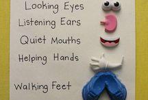 Five Me Five Preschool Manners