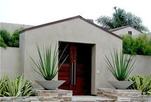 Front Porch Designs / Get more ideas and inspiration for designing your front porch at http://www.landscapingnetwork.com/front-yard-landscaping/porch-ideas.html