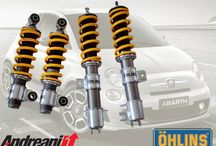 Fiat 500 Abarth / New Öhlins Road & Track Kit for Fiat 500 Abarth made in exclusive by Andreani Group Technicians  For info sales2@andreanigroup.com