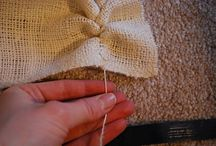 Burlap Uses / by Phoebe Costley