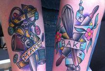 """Tattoos! / As tatuagens """"crafts"""" que a gente vê por aí (: / by Tanlup"""