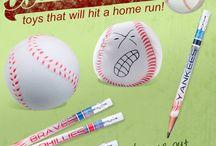 Take me out to the ball game! / Baseball, baseball & more baseball! / by SmileMakers