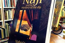 """Noruz (Persian new year) & gifts / Noruz is a great time to give the gift of discovering the wonders of a new world to our children.""""Naji and the mystery of the dig"""" is such a gift. Based on a true story, the novel opens a window to a the magic and mysteries of Persian culture, cuisine and folklore. www.najistories.com"""