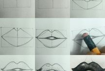 lips tutorial by Artist Dee