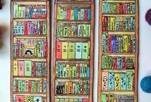 Book Crafts & DIY