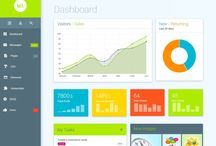 Web Design / Modern, responsive web design, Material design Admin template