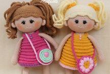 panenky a panáčci / háčkování
