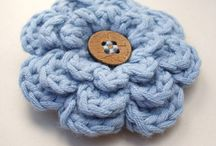 crochet flowers  / by Esther Zwagerman
