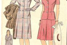 1940s Damenmode
