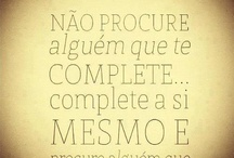 Pensamentos ... / by Magda Silva
